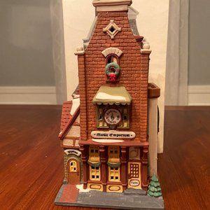 """Dept. 56 Christmas in the City """"Music Emporium"""""""